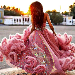 freetoedit prom dress pink fyp ecpromready2020