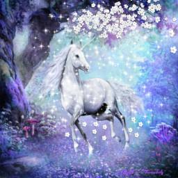 freetoedit cuteanimals unicornio🌈 unicornio