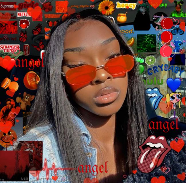 #red #blackqueen #edits #photoedits #freetoedit
