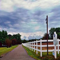 farm naturephotography rainyday fence countryside