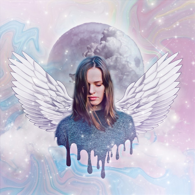 #freetoedit #replay #artistic #remixme #holographic #wings #moon #dripp #dripping #drippeffect #drippingeffect #sparkle #stayinspired #clouds #createfromhome #picsartedit #aesthetic #sky
