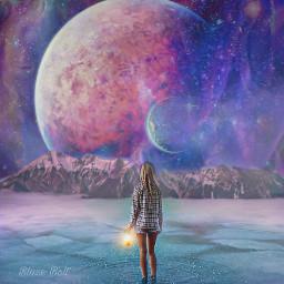 freetoedit galaxy myphotomyedit planet fantasy