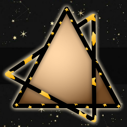 frame stayinspired triangle galaxy createfromhome freetoedit ftestickers