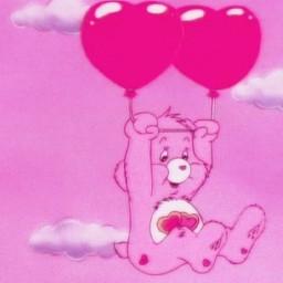 carebear pink love lovecore vintage freetoedit