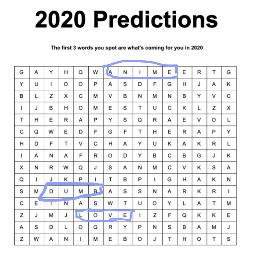2020 2020predictions anime dumb love freetoedit