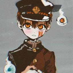 freetoedit tbhk jshk anime hanakokun