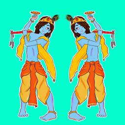 krishna blue animationkrishna lordkrishna god