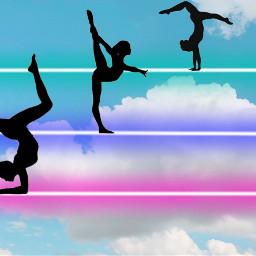 gymnastics freetoedit