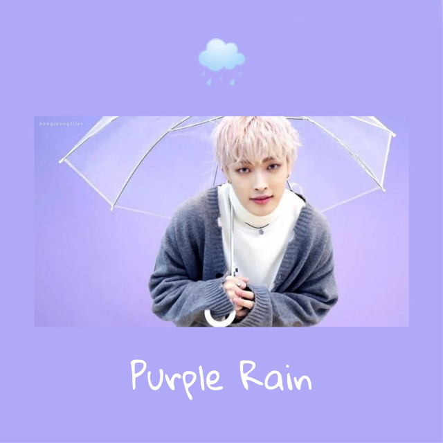 #Hongjoon #Ateez #PurpleRain #kpop