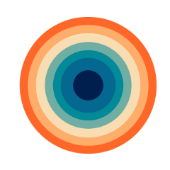freetoedit circle aesthetic colors overlay