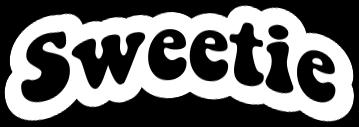 freetoedit sweetie text sticker aesthetic
