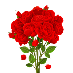 freetoedit bouquetofflowers roses