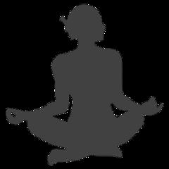 freetoedit meditation yoga namaste silhuette