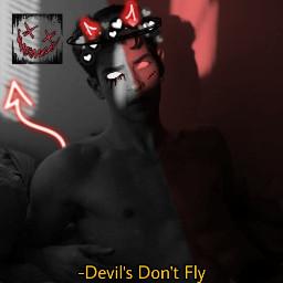 freetoedit manurios devil evil horns