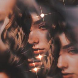 kaleidoscope sparkle aesthetic face clone eccolorfulkaleidoscope freetoedit