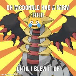 giratina meme satire darkhumor cursed