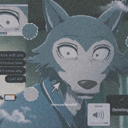 legoshi beastars anime picsart edit