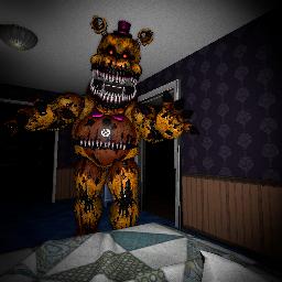 nightmarefredbear fnaf4 fnaf