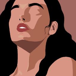 girl woman illustration illustrationart aesthetic