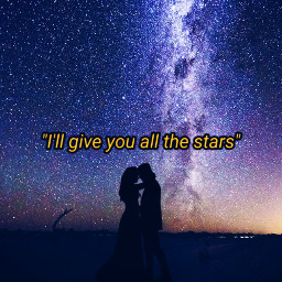 freetoedit stars silhouettes nightsky quotes quotesandsubtitles ecquotesandsubtitles