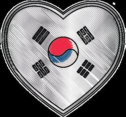 freetoedit southkorea heart