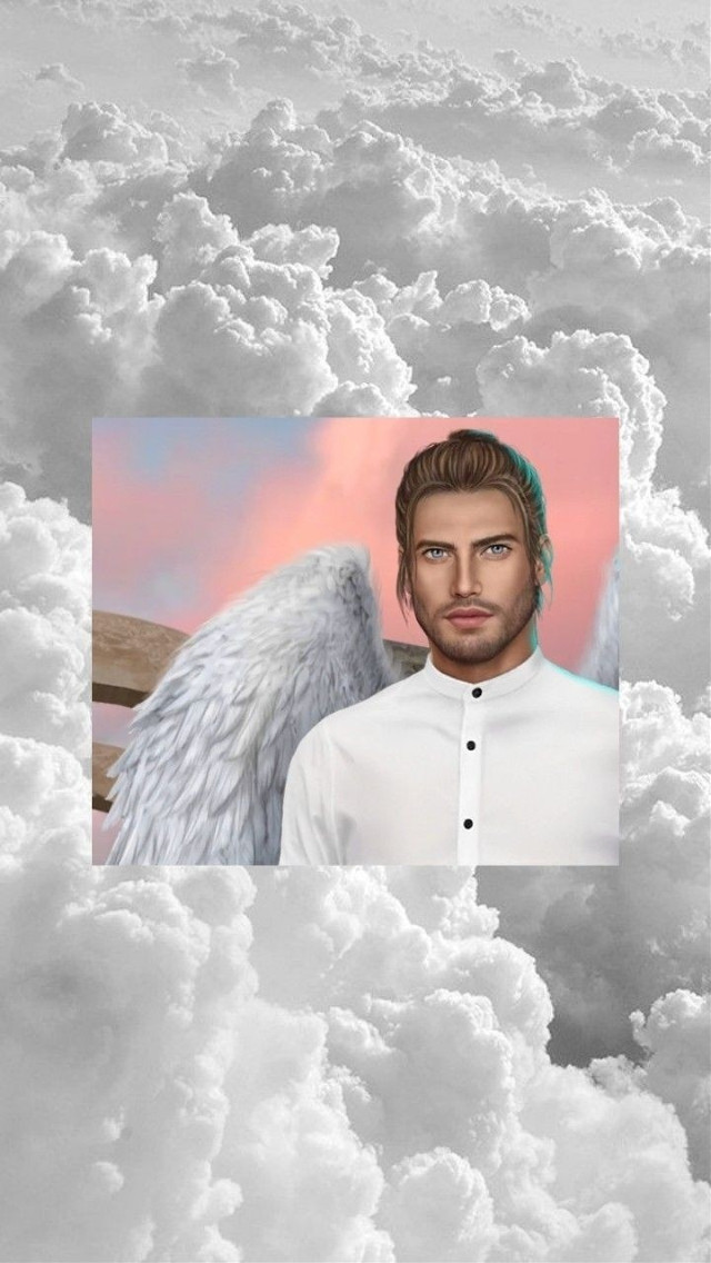 #обои #клубромантики #дино #небо #облака #ангел