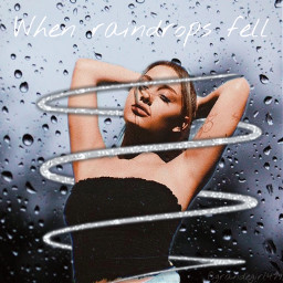 arianagrande raindrops freetoedit