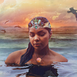 freetoedit princess mermaid ocean water srcunderwaterroyalty underwaterroyalty