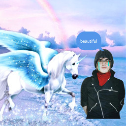 mikeyway mychemicalromance mcr unicorn imsosorry freetoedit