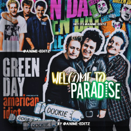 greenday billiejoearmstrong mikedirnt trecool americanidiot day