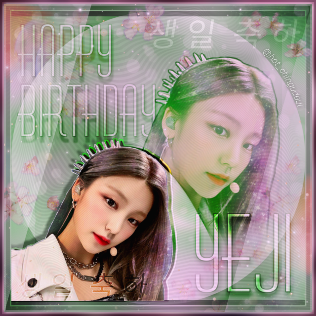 •°🌸。•  Happy Yeji day! ° ° #itzy #itzyyeji #happyyejiday #itzykpop #hwangyeji #kpopbirthday #kpopedit #faneditkpop #birthdayedit #midzy #itzyedit #yejiedit
