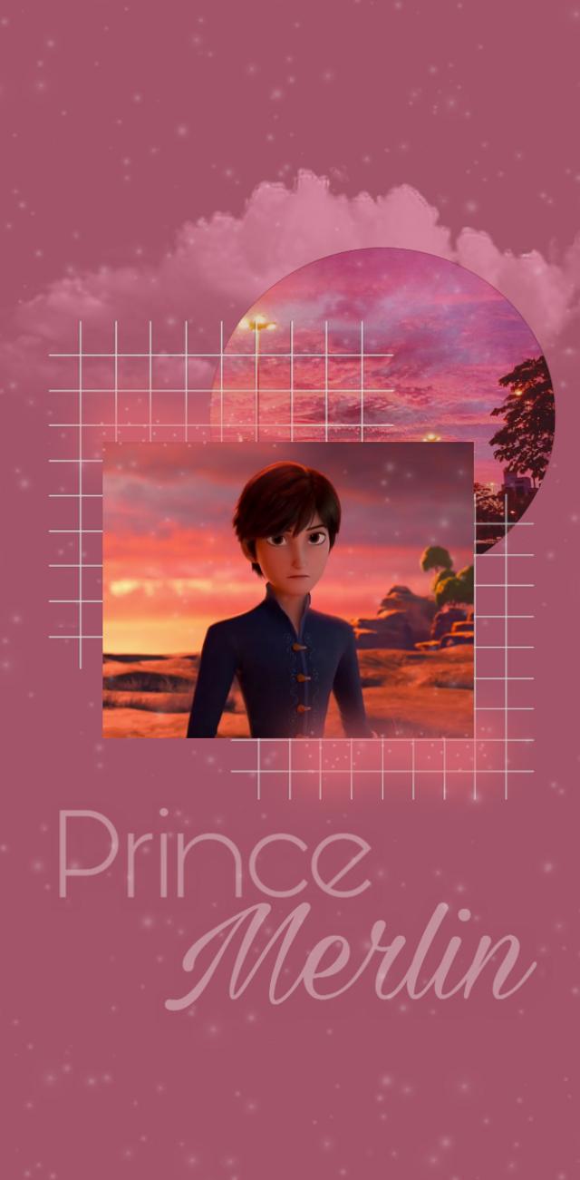 Prince Merlin y'all? #princemerlin #redshoes #redshoesandthesevendwarfs #redshoesandthe7dwarfs #wallpaper #fandomwallpaper #freetoedit
