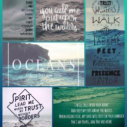 freetoedit oceans hillsong hillsongunited waves