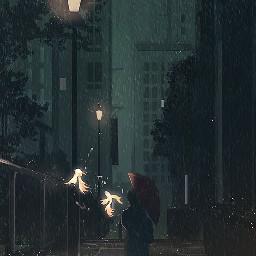 art anime sunsey alone boy freetoedit