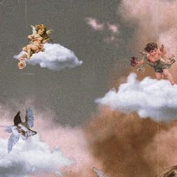 freetoedit angel angelaesthetic vintageaesthetic vintage