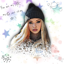 freetoedit outlineaesthetics outline outlinedrawing lorengray