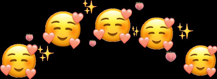 #freetoedit #sticker #emoji #peach #picsart #smile #emojiiphone #indonesia#stikerku #save  #foryou