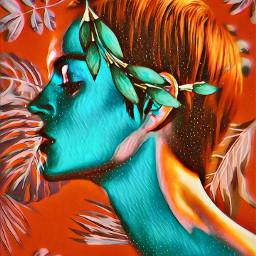 freetoedit flower woman color remixit srcmonsteramoment monsteramoment
