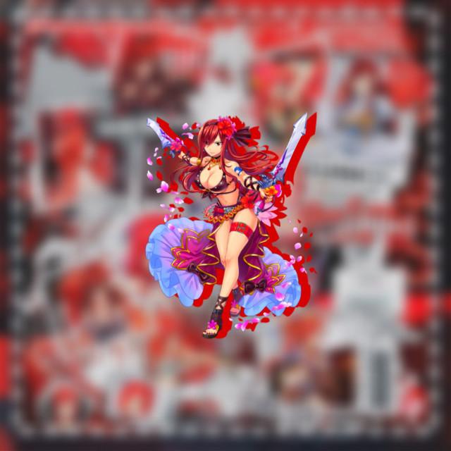 ❤️  𝚃𝚊𝚐𝚜 : #erza #erzascarlet #erza_scarlet #erzascarlett #fairytail #edit #anime #animeedit #red #redcollage  #freetoedit