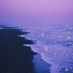 wallpapes purpleaesthetic purple softaesthetic beach freetoedit