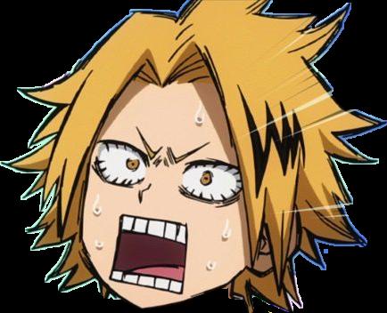 #freetoedit #bnha #kaminari #denki #denkikaminari #meme #dank #cute #aesthetic #anime #rage #angry #sticker #kaminariface #denkikaminariface #kawaii