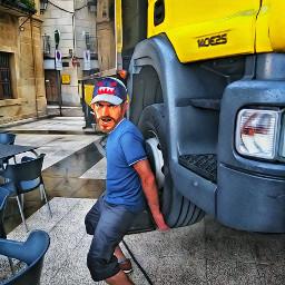 freetoedit strongman truck sticker magiceffect