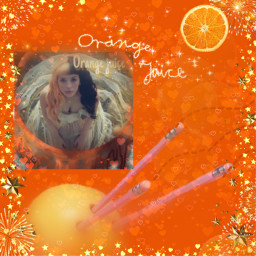 melaniemartinez orangejuice k-12 freetoedit k