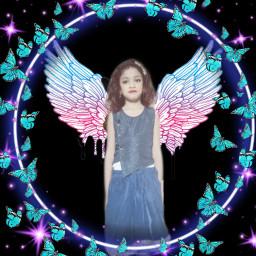 freetoedit angel beautyofnature girlysblog kidsunited