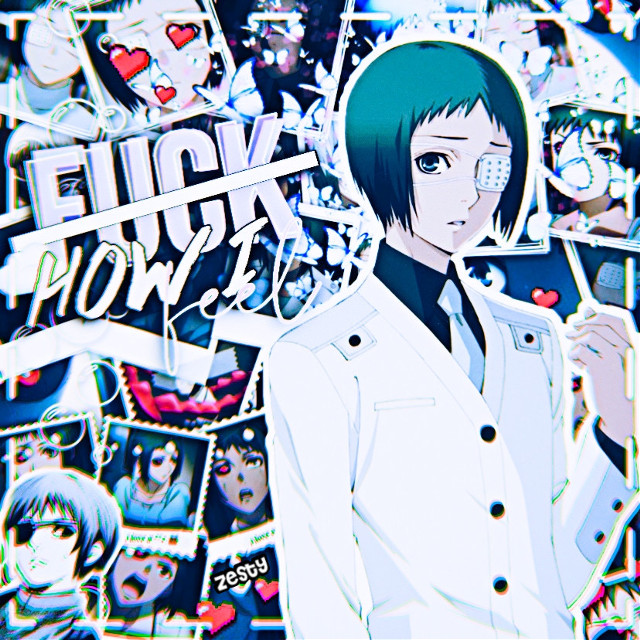 AnOthEr oNe? ItS AnoThEr OnE! WhEre ArE yOu aLl ComInG FrOm??  Tooru Mutsuki is a baby boi and I would say he must be protected at all costs, but he can protecc himself because he is badass warrior boi.  Tooru is a trans man, and he's also gay, bi, pan, one of those, because it has been confirmed that he has/had feelings for (imma just call him Kaneki)  #tooru #mutsuki #tokyoghoul #tokyoghoulre #quinxesquad #transanimecharacter #canonlgbtcharacter