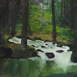 freetoedit painting paintings landscape forest