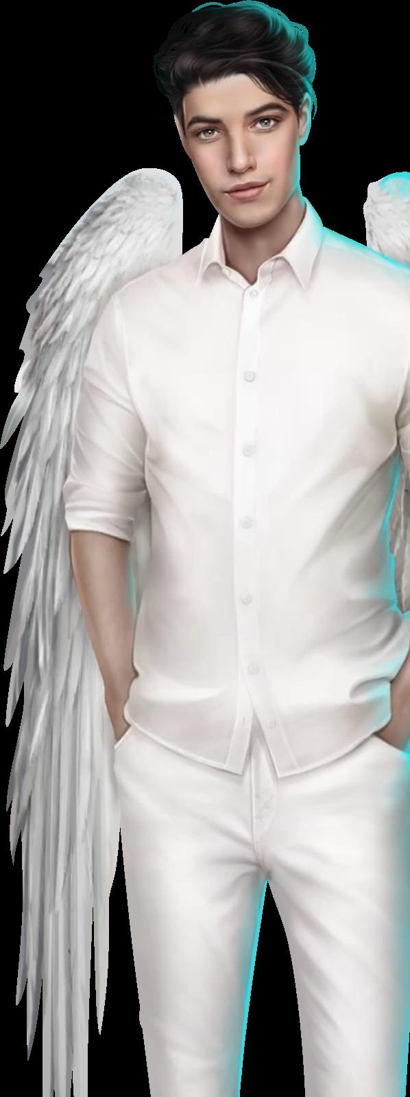 #freetoedit#клубромантики#секретнебес#сэми#ангел