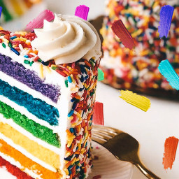 freetoedit cake rainbowcake srccolorpalette colorpalette colorpallet
