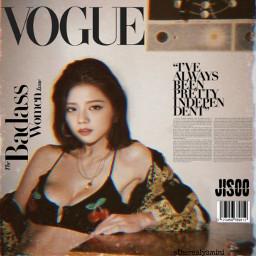 vogue magazine magazinecover au kimjisoo freetoedit