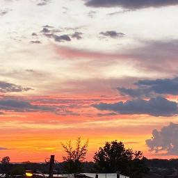 freetoedit goodafternoon clouds sky yellowandorange